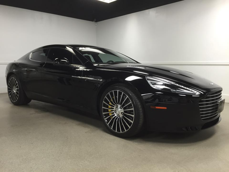 Aston Martin Rapide Tint MN_Car Window Tinting