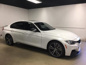 BMW 5 Series Window Tint MN2