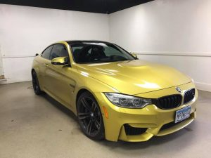BMW M4 Window Tinting MN2