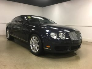 Bentley Continental 3M Automotive Window Tinting MN1