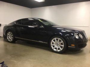 Bentley Continental 3M Automotive Window Tinting MN3