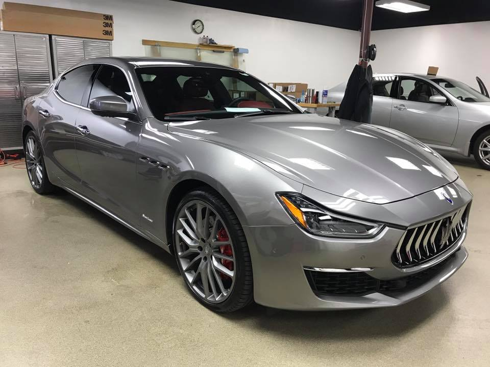 Maserati Gran Turismo WIndow Tinting MN1_Car Window Tinting