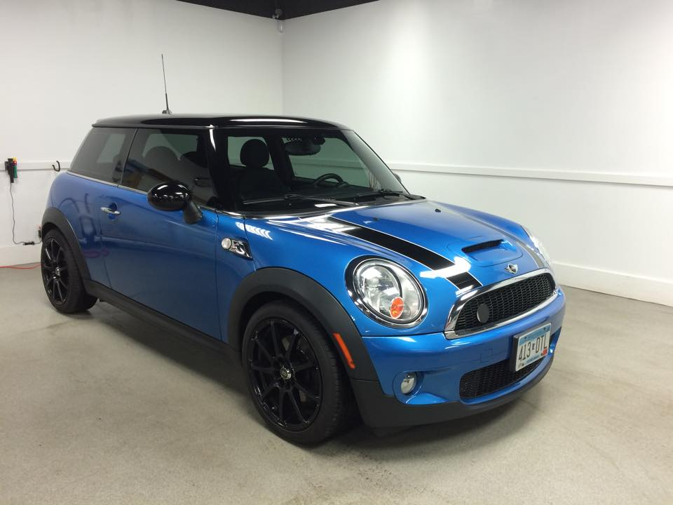 Mini Cooper Window Tint MN3_Car Window Tinting