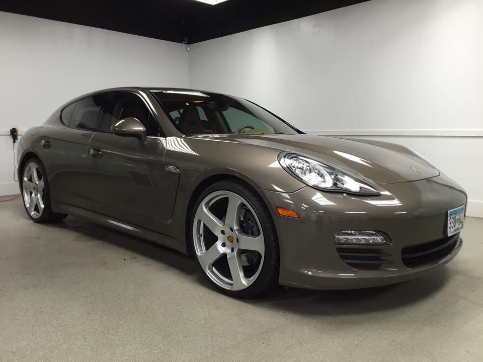 Porsche Panamera 3M Window Tint Minneapolis MN_Car Window Tinting