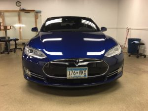 Tesla Model S Window Tinting MN1