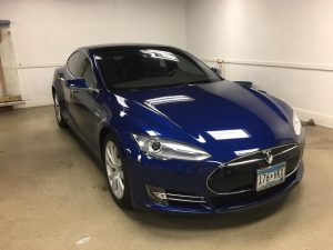 Tesla Model S Window Tinting MN5