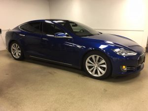 Tesla Model S Window Tinting MN6