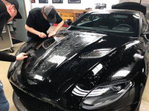 Aston Martin Clear Bra MN4