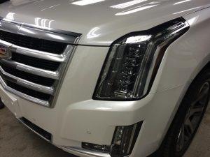 Cadillac Escalade Clear Bra MN10