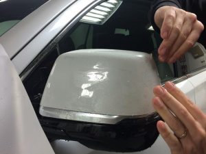 Cadillac Escalade Clear Bra MN13