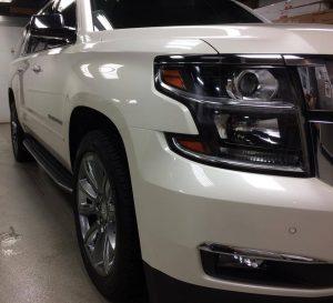 Chevrolet Suburban Clear Bra MN1