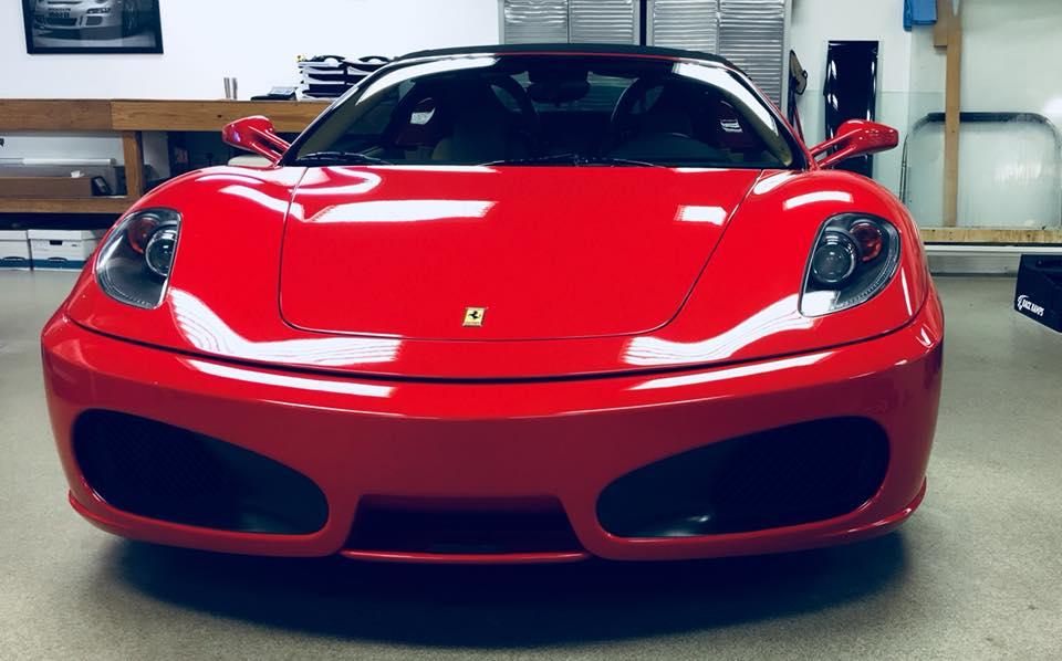 Ferrari 458 Clear Bra MN1