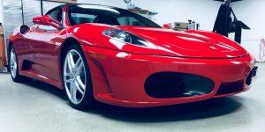 Ferrari 458 Clear Bra MN2