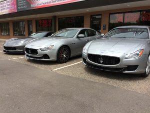 Maserati Clear Bra MN1