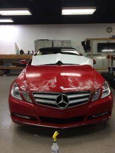 Mercedes Clear Bra MN1