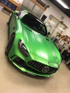 Mercedes GTR Clear Bra MN2