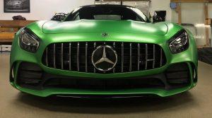 Mercedes GTR Clear Bra MN9