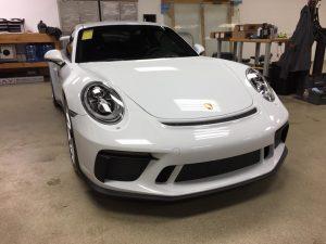 Porsche GT3 Clear Bra MN4