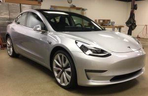 Tesla Model 3 Clear Bra Installer MN1
