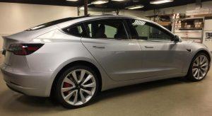 Tesla Model 3 Clear Bra Installer MN6