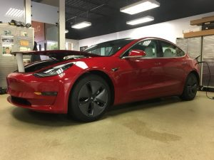Tesla Model 3 Clear Bra MN1