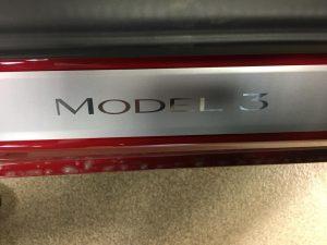 Tesla Model 3 Clear Bra MN2
