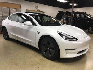 Tesla Model 3 Clear Bra MN3