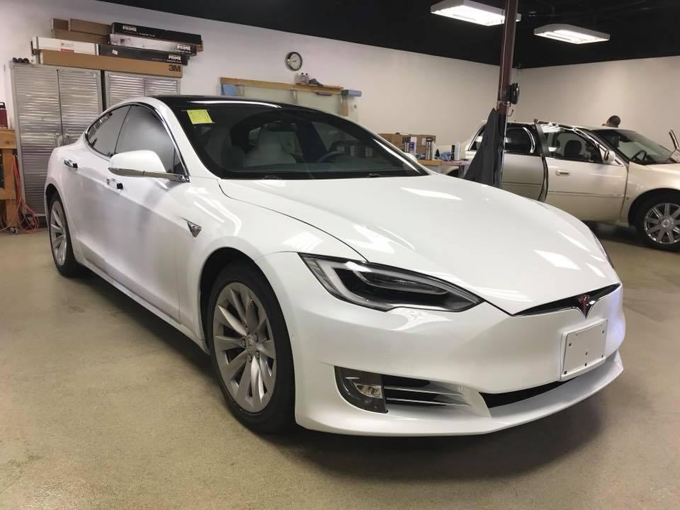 Tesla Model S Clear Bra1
