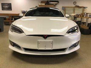 Tesla Model S Clear Bra2