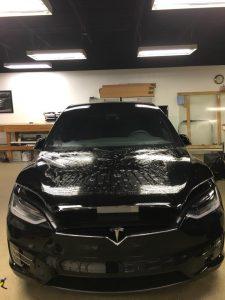Tesla Model X Clear Bra2