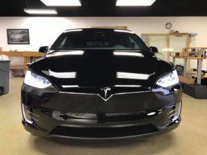 Tesla Model X Clear Bra4