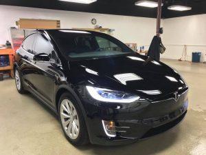 Tesla Model X Clear Bra5