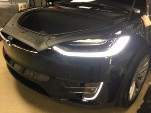 Tesla Model X Clear Bra6