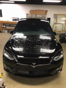 Tesla Model X Clear Bra7